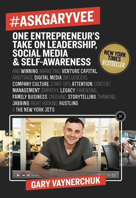 Book cover image: #AskGaryVee: One Entrepreneur's Take on Leadership, Social Media, and Self-Awareness | New York Times Bestseller