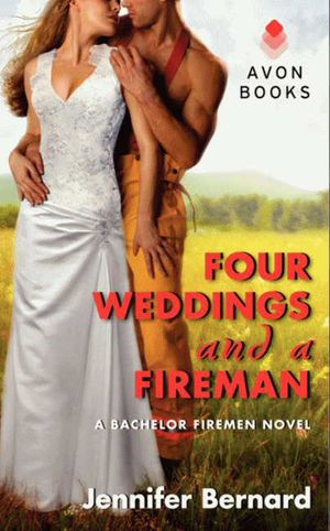 Four Weddings and a Fireman book image