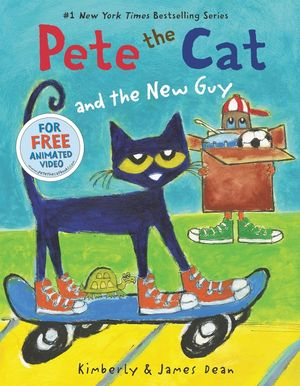 Pete the Cat and the New Guy book image