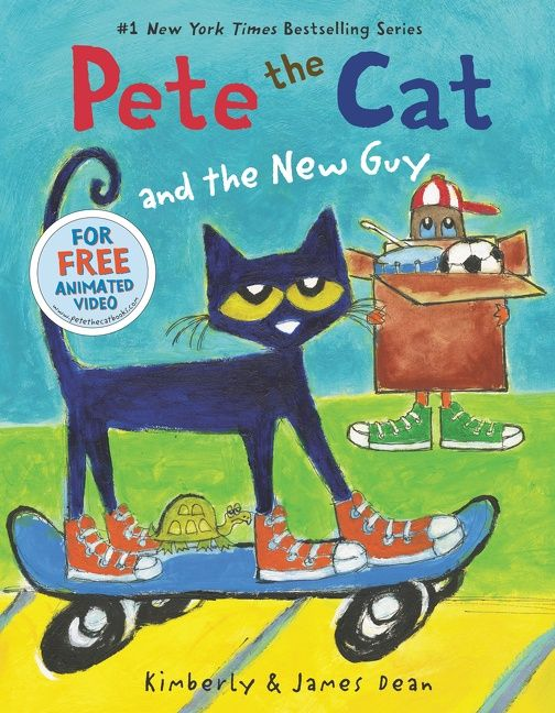 Pete the Cat and the New Guy - James Dean - Hardcover