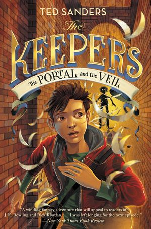 The Keepers #3: The Portal and the Veil book image
