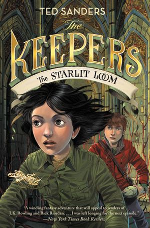 The Keepers #4: The Starlit Loom book image