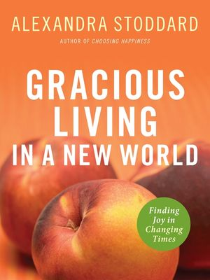 Gracious Living in a New World book image