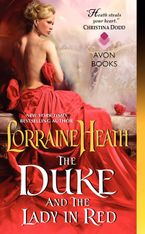 The Duke and the Lady in Red Paperback  by Lorraine Heath