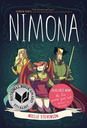 Nimona book image