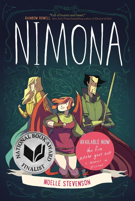 Image result for nimona cover