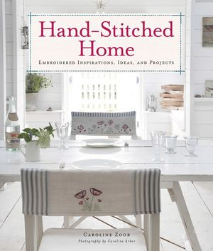 Hand-Stitched Home book image