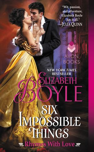 Six Impossible Things book image