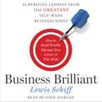Business Brilliant Downloadable audio file UBR by Lewis Schiff