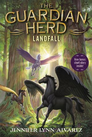The Guardian Herd: Landfall Paperback  by Jennifer Alvarez