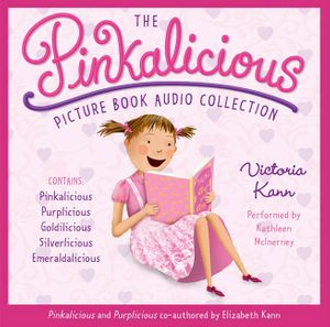 The Pinkalicious Picture Book Audio Collection CD book image