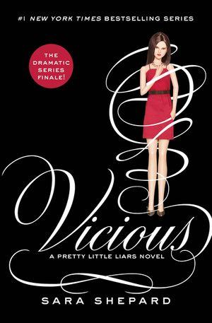 Pretty Little Liars #16: Vicious book image