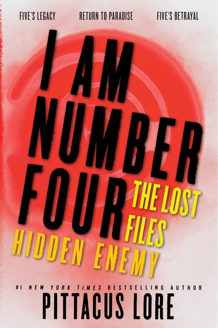 i am number 4 book series