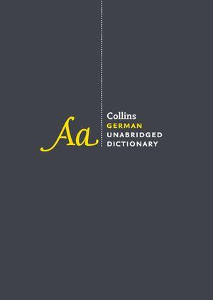 Collins German Unabridged Dictionary, 8th Edition book image