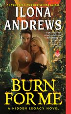 Burn for Me Paperback  by Ilona Andrews