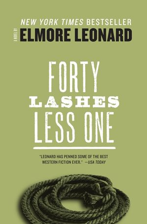 Forty Lashes Less one book image