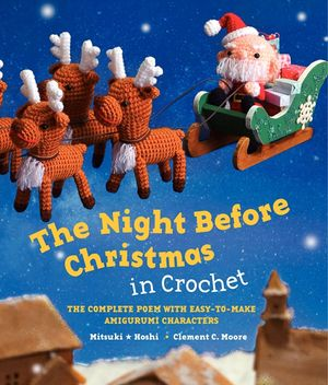 The Night Before Christmas in Crochet book image