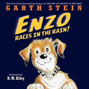Enzo Races in the Rain! book image