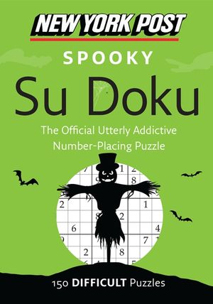 New York Post Spooky Su Doku book image