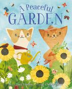 A Peaceful Garden Hardcover  by Lucy London