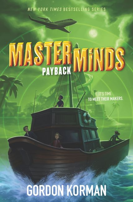 Book Cover Series S : Masterminds payback gordon korman hardcover