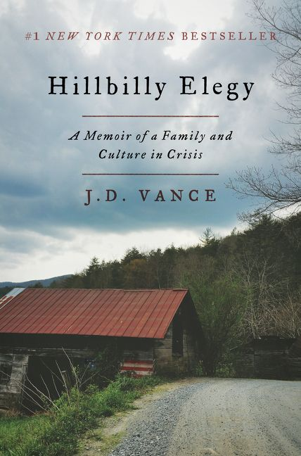 Image result for hillbilly elegy book cover
