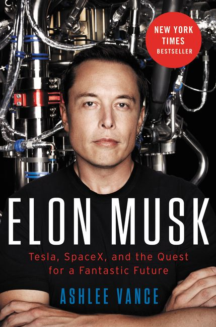 Cook Book Cover Quest : Elon musk ashlee vance hardcover