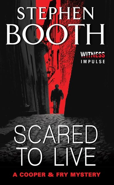 Book cover image: Scared to Live