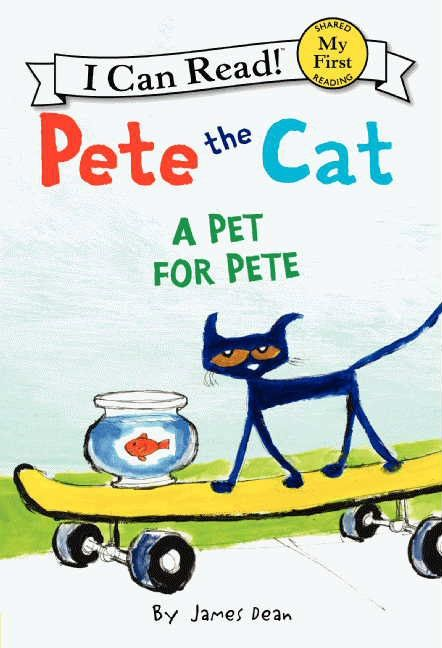 Pete the Cat: Sir Pete the Brave - James Dean - Hardcover |Pete The Cat Reading Log
