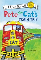 Pete the Cat's Train Trip Hardcover  by James Dean