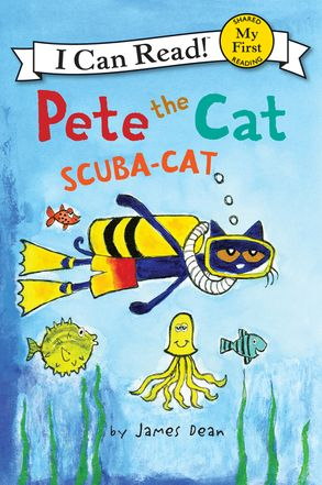 Cover image - Pete the Cat: Scuba-Cat