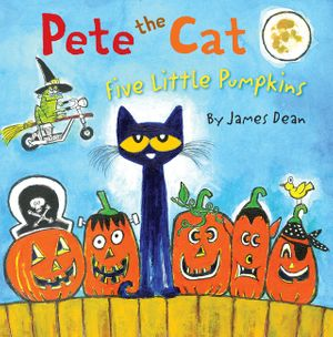 picture about Five Little Pumpkins Printable named Pete the Cat: 5 Very little Pumpkins Pete the Cat Guides