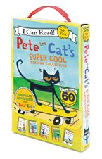 Pete the Cat's Super Cool Reading Collection Paperback  by James Dean