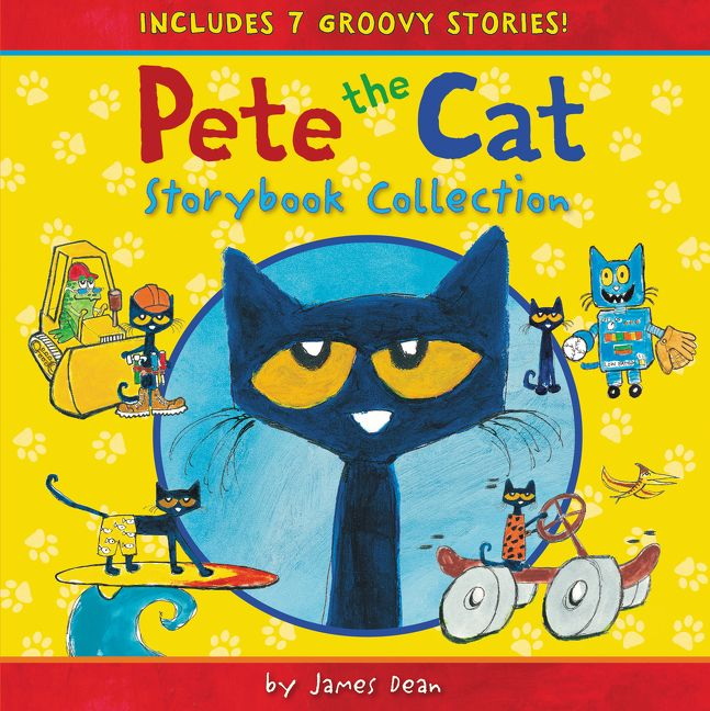 pete the cat storybook collection james dean hardcover