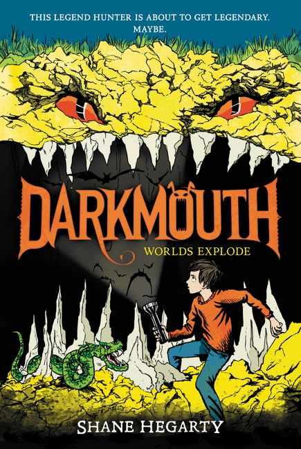 Darkmouth #2: Worlds Explode - Shane Hegarty - Paperback