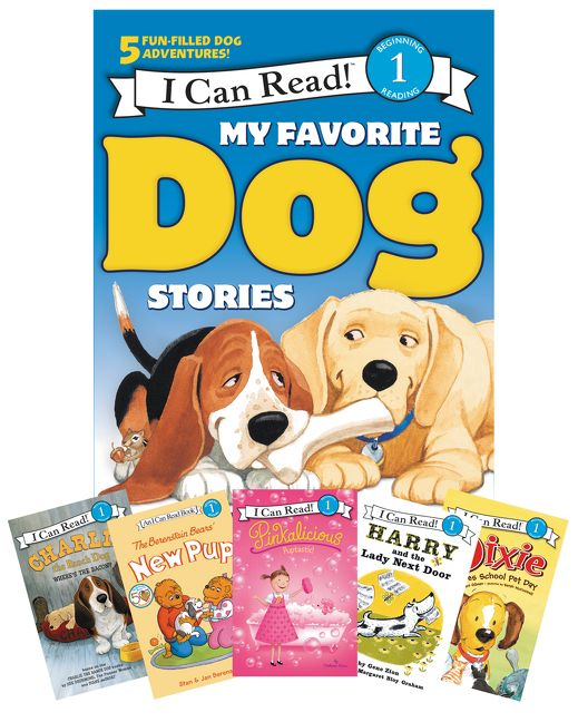 My Favorite Dog Stories Learning To Read Box Set Various Paperback