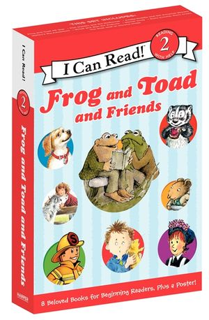 Frog and Toad and Friends Box Set book image