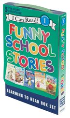 Funny School Stories: Learning to Read Box Set Paperback  by VARIOUS