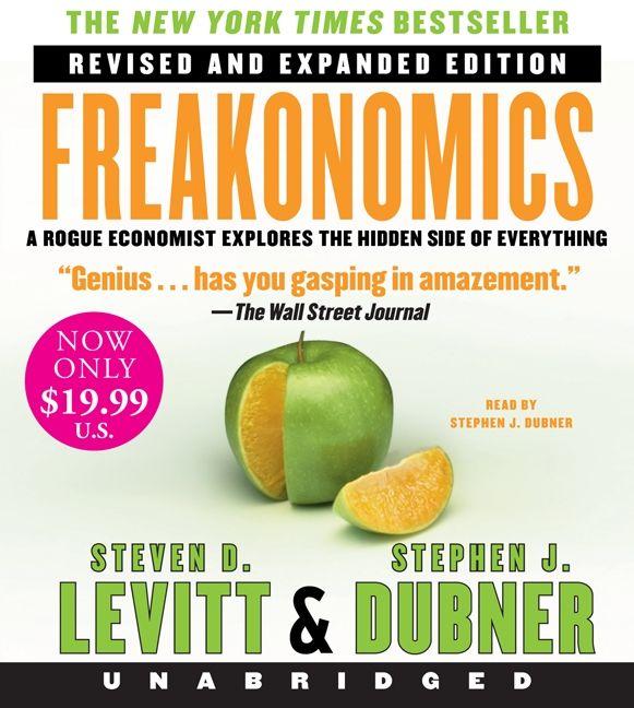 Freakonomics Rev Ed Low Price CD - Steven D  Levitt - CD-Audio