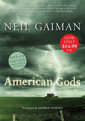 American Gods Low Price MP3 CD book image