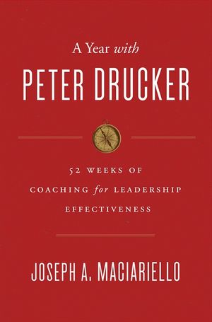 A Year with Peter Drucker book image