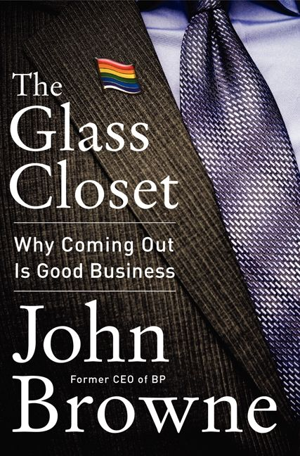 Book cover image: The Glass Closet: Why Coming Out Is Good Business