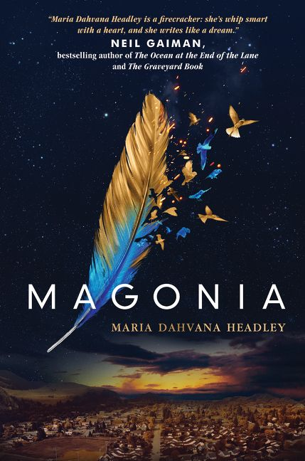Magonia by Maria Dahvana Headley -  The 29 Best YA Book Covers of 2015 as Chosen by Epic Reads Designers