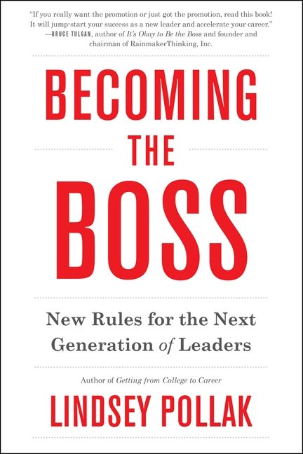 Book cover image: Becoming the Boss: New Rules for the Next Generation of Leaders