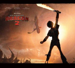 The Art of How to Train Your Dragon 2 book image