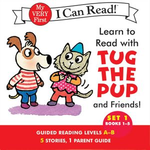Learn to Read with Tug the Pup and Friends! Set 1: Books 1-5 book image