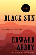 Black Sun Paperback  by Edward Abbey
