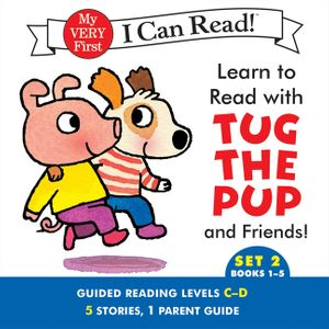 Learn to Read with Tug the Pup and Friends! Set 2: Books 1-5 book image