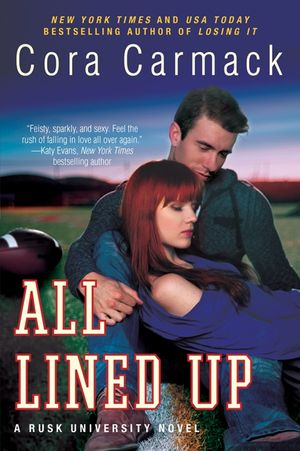All Lined Up book image