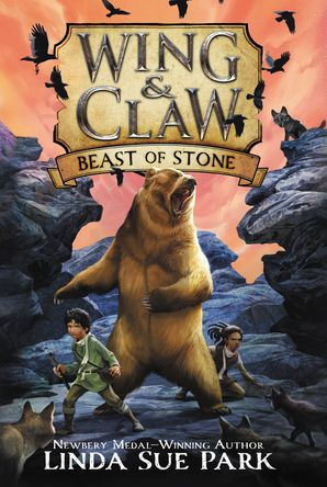 Wing & Claw #3: Beast of Stone Paperback  by Linda Park